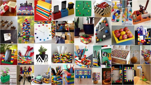 Κατασκευές για το σπίτι με τουβλάκια Lego
