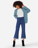 Como usar Mom jeans