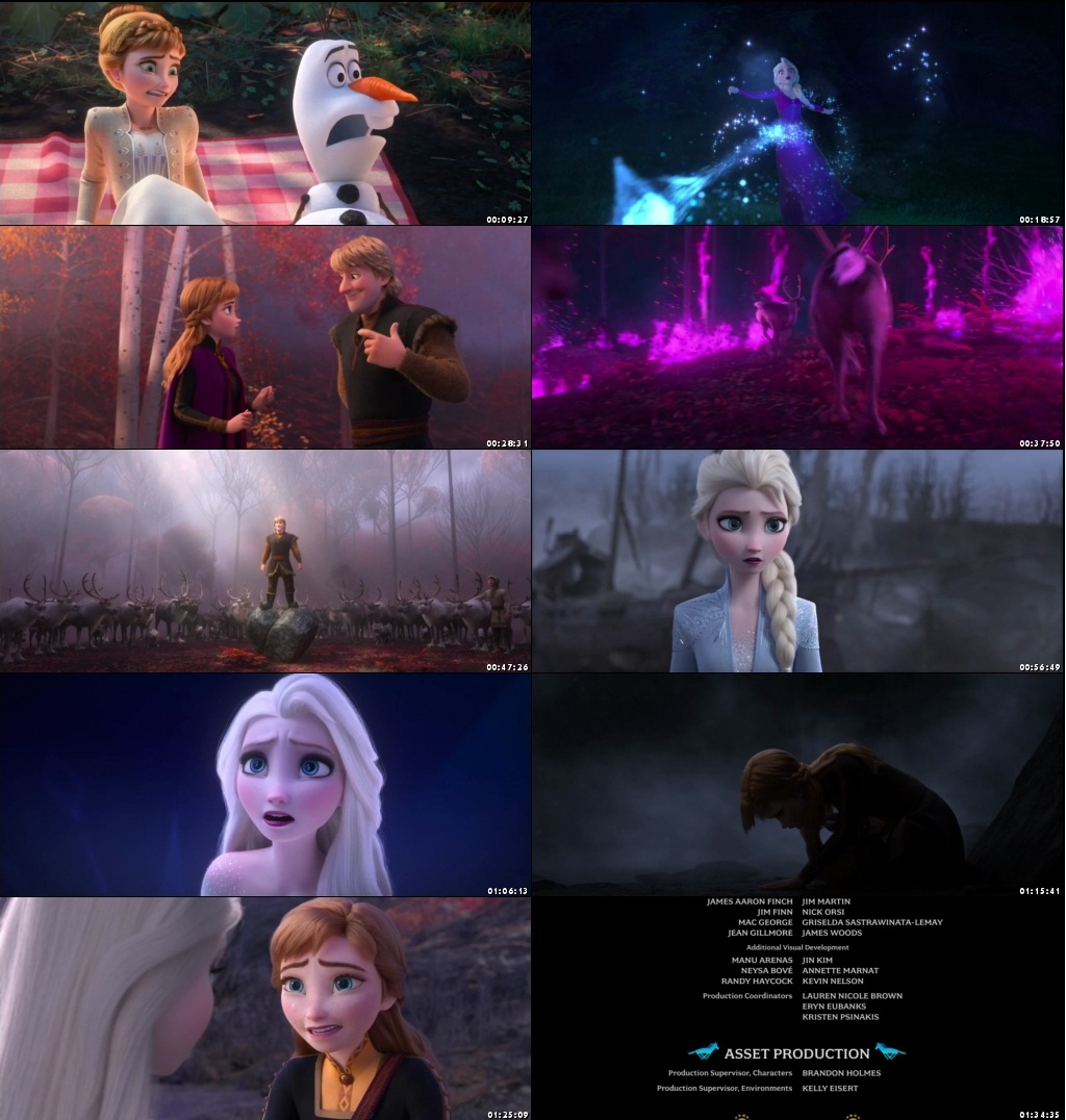 Frozen 2 (2019) Movie Dual Audio Hindi ORG