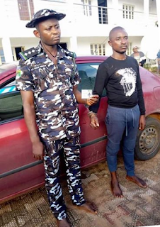 Armed robber who poses as a police DSP, arrested