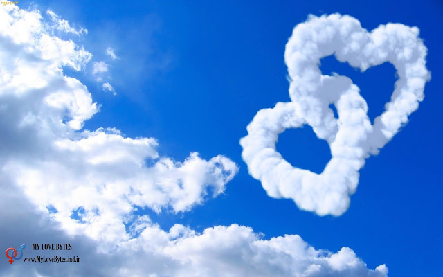 Love in Clouds, infinite love, heats of love wallpapers, full size love pictures