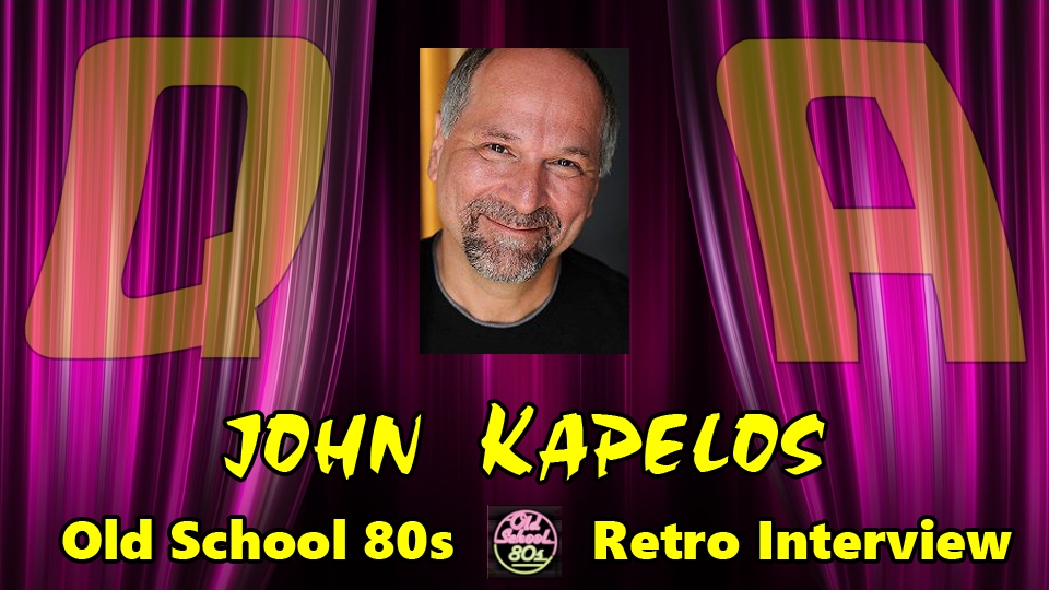 Interview with John Kapelos from The Breakfast Club, Sixteen Candles, Weird Science much more