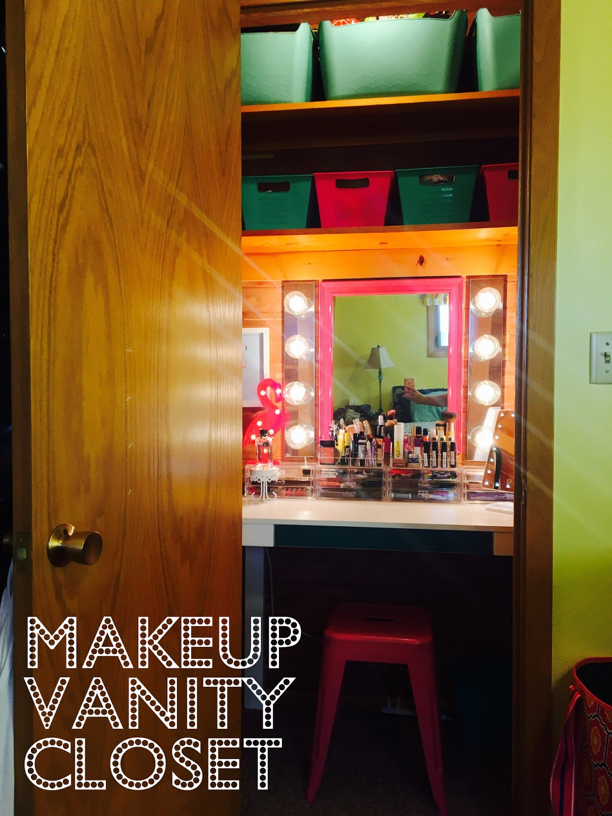 Makeup Vanity Closet!! - the farmer and the southern belle