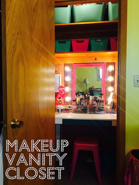 Makeup Vanity Closet