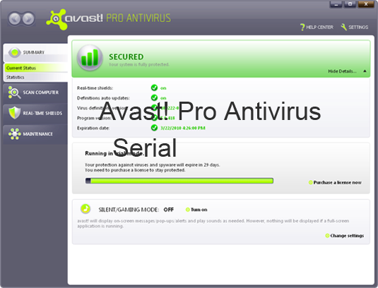 Avast Antivirus Plus Serial Crack Keygen License Free Download