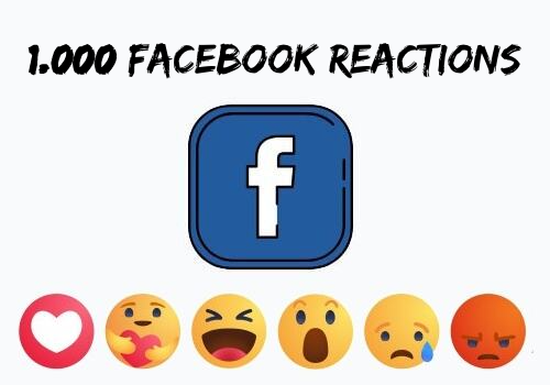 Buy 1.000 Facebook Post Reaction Likes