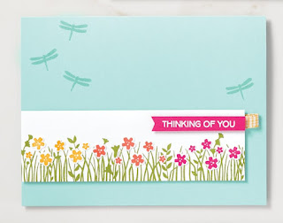 Stampin' Up! Field of Flowers Card + 5 Bonus Projects ~ www.juliedavison.com #stampinup