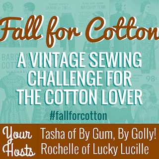 Fall For Cotton 2013 A Sewing Challenge