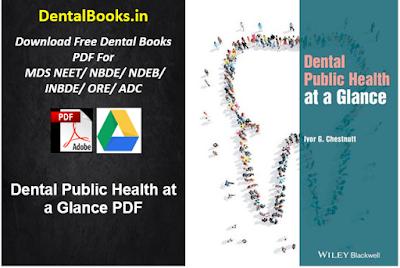 Dental Public Health at a Glance PDF