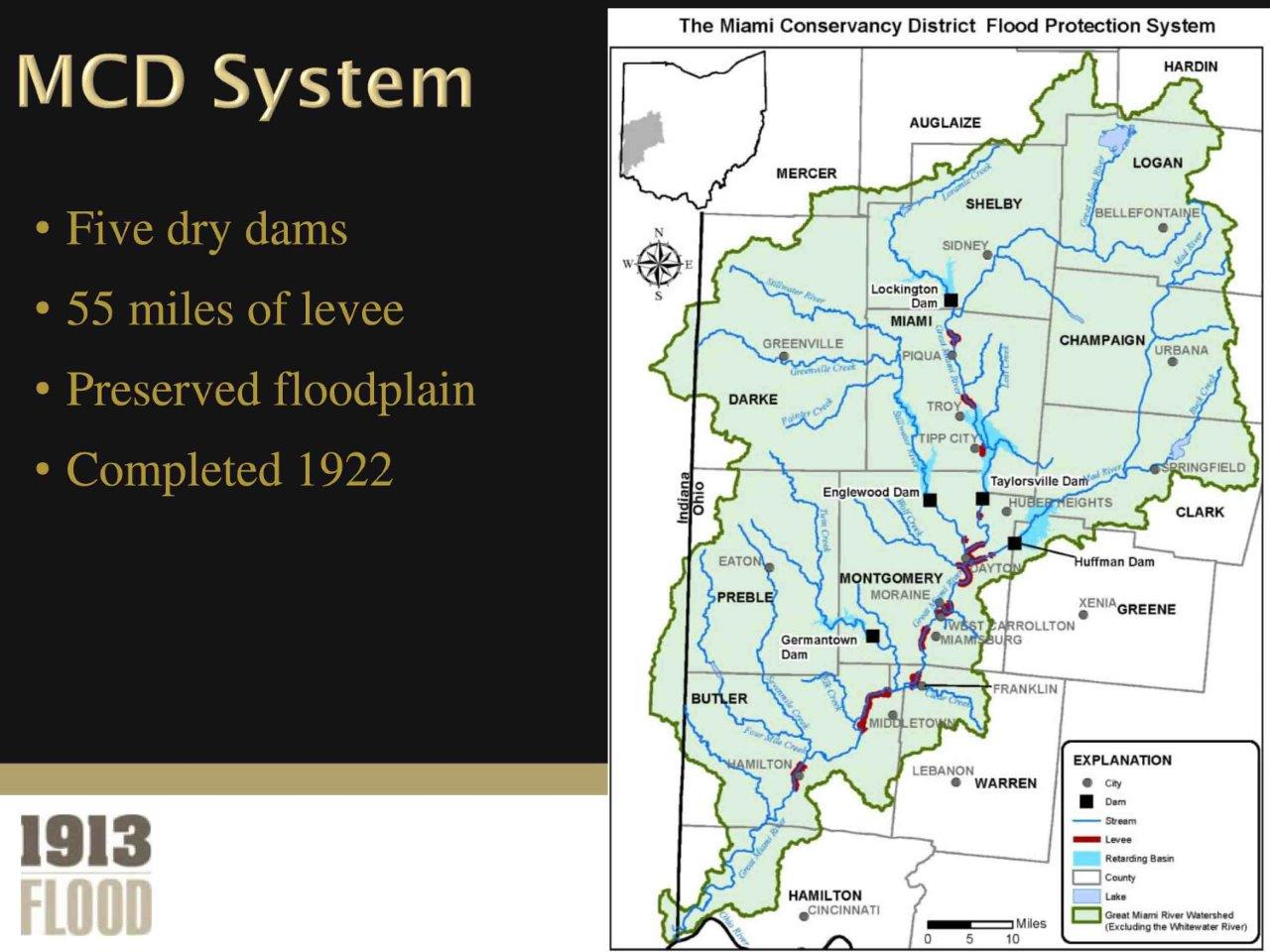 Moraine Ohio Map.Our National Calamity The Great Easter 1913 Flood Mapping Disaster