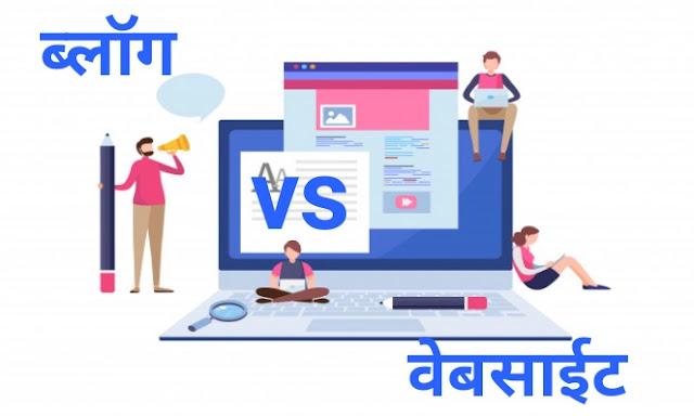 blog mhanje kaya, difference between blog and website in marathi, what is blog in marathi