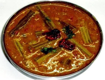 sambar ready to serve