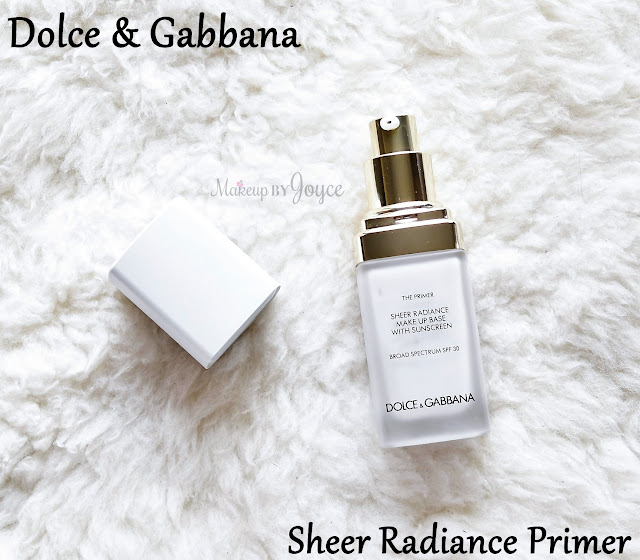 Dolce & Gabbana The Primer Sheer Radiance Make Up Base with SPF 30 Review