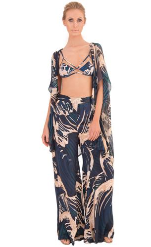 Adriana Degreas coleção verão 2016 calça e kimono