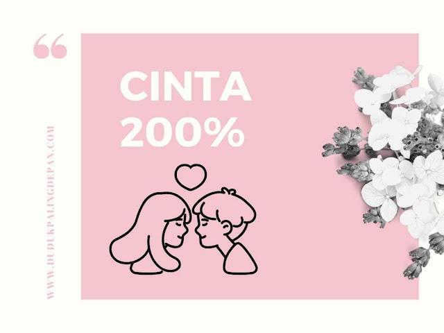 Cinta 200%