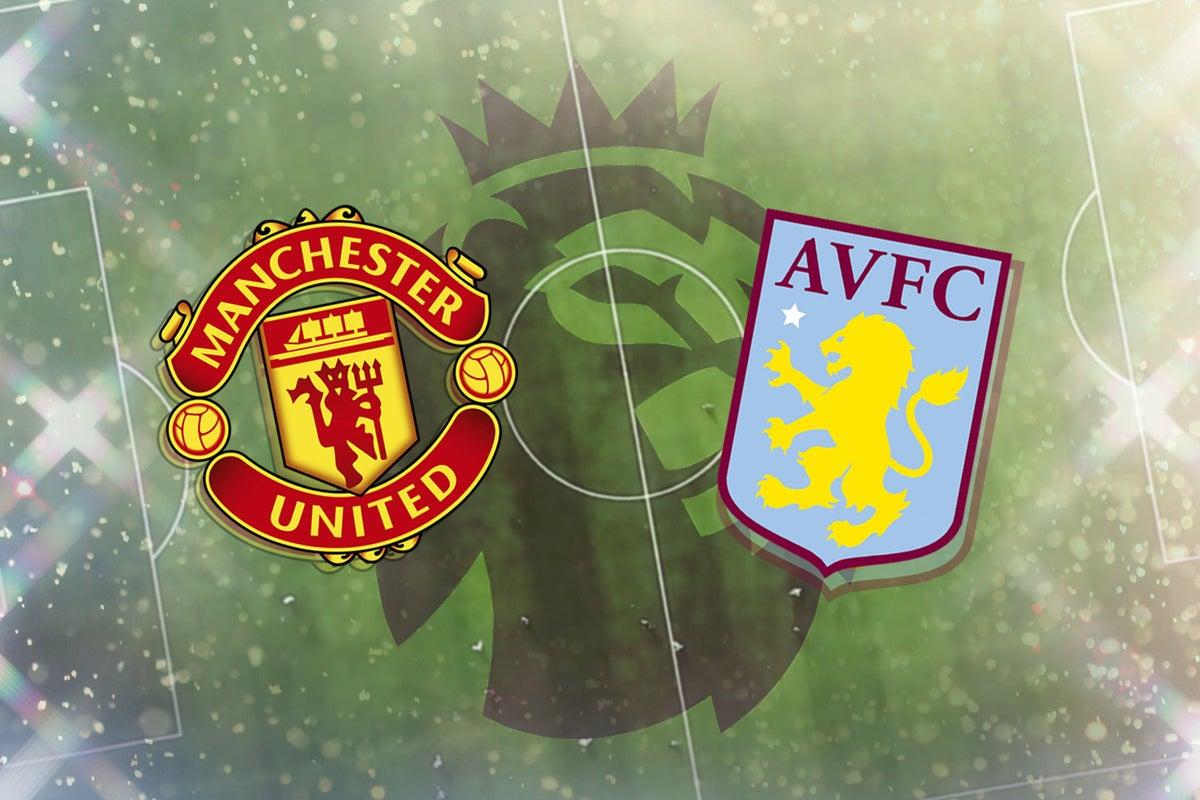 بث مباشر مباراة مانشستر يونايتد واستون فيلا