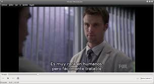 Fotograma de la serie House subtitulado