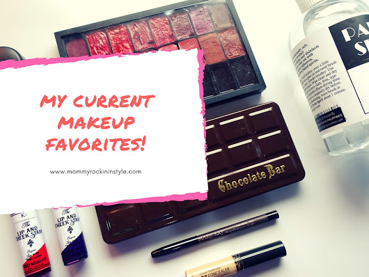 Mommy Rockin' In Style | Beauty and Mommy Blogger Philippines: My Current Makeup Favorites! [MAC, The Saem, Freedom, Too Faced and many more]