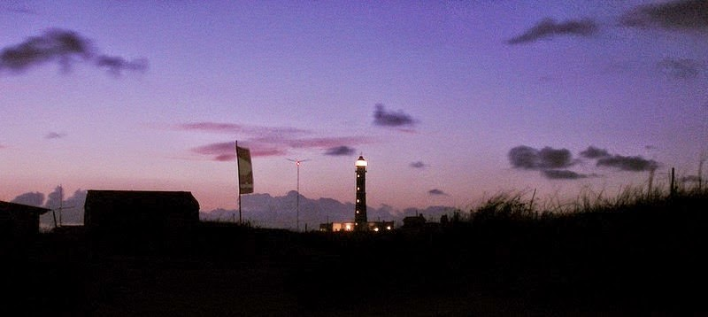 The lighthouse at dusk. - Cabo Polonio. An Idyllic Tourist Village Without Electricity, Running Water or TV