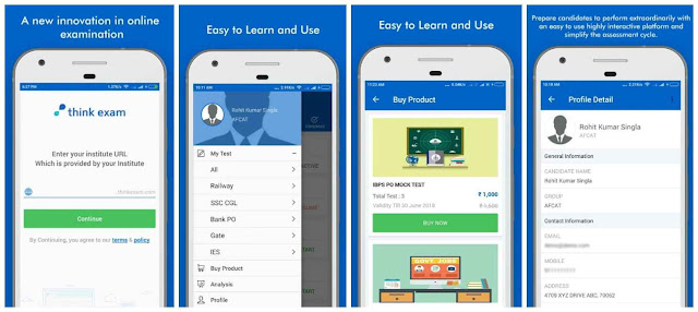 Free Download Online Exam Android App