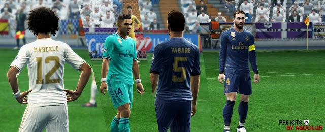 PES 2013 Real Madrid C.F. 2019-2020 GDB by AbdoLGR