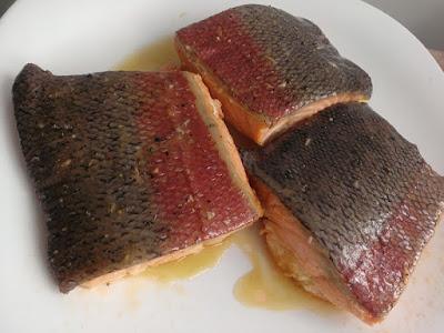 Ryba pieczona w mleczku kokosowym