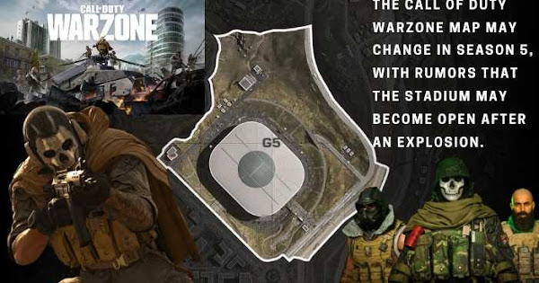 Season 5 Call Of Duty Warzone Map And Stadium Changes Gamer Full Stop Latest Games News Game Reviews Video Game Entertainment Blog