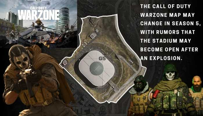 Season 5 Call Of Duty Warzone Map And Stadium Changes Gamer Full