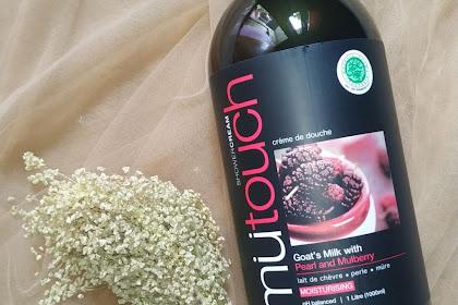 Review Mu Touch Goats Milk Shower Cream