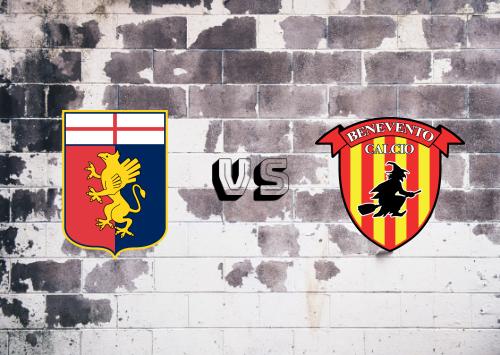 Genoa vs Benevento  Resumen