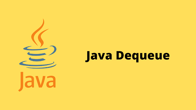 HackerRank Java Dequeue problem solution