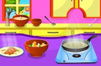 permainan memasak samosa sayuran