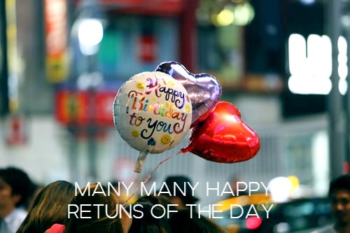 many many happy retuns of the day hd images