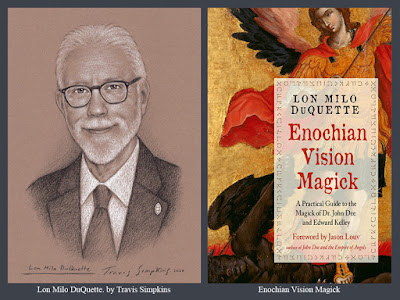 Lon Milo DuQuette. Enochian Vision Magick. John Dee. Ordo Templi Orientis. Thelema. by Travis Simpkins