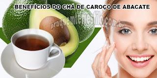 Benefícios do chá de caroço de abacate para a saúde