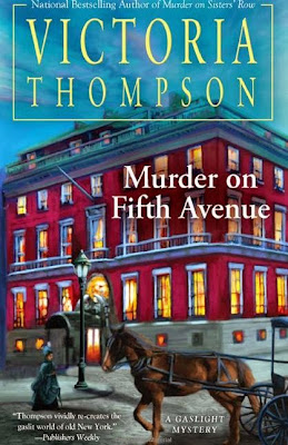 Murder on Fifth Avenue by Victoria Thompson - book cover