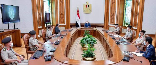 الرئيس السيسي يوجه بأقامة مجمع حديث متكامل للورش الحرفية في مدينة الأمل