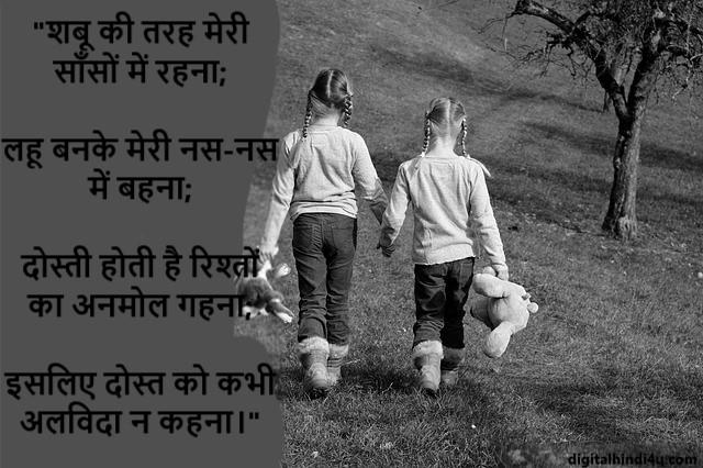 Dosti Shayari Hindi image