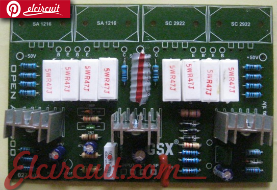 PCB Layout High End Power Amplifier