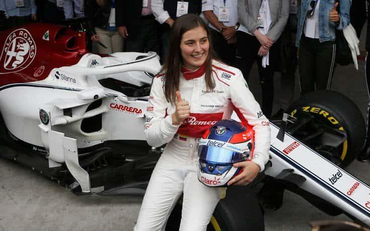 Έχετε Ξαναδεί Γυναίκα στο Τιμόνι της Formula 1; (video)