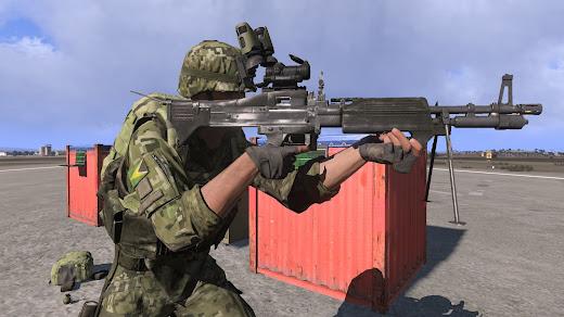 Arma3用のM60 汎用機関銃MOD