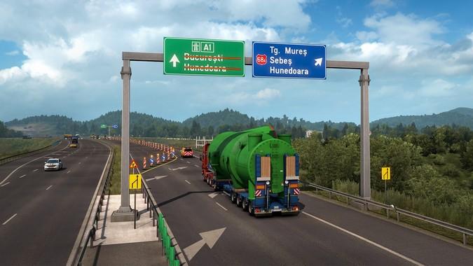 Euro Truck Simulator 2 ganhará novas rotas para transporte de cargas indivisíveis