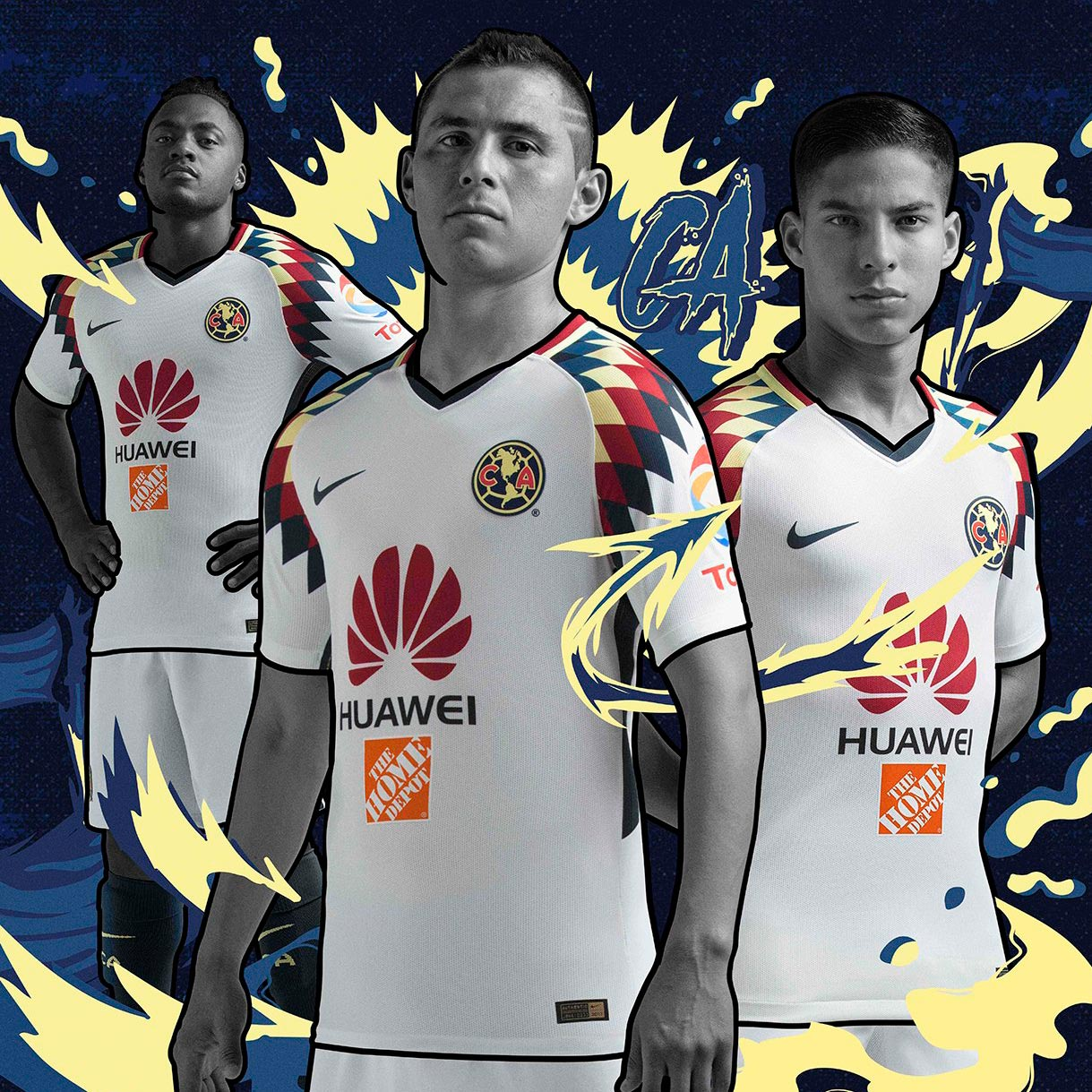 Nike club am rica 17 18 away kit released footy headlines for Cuarto kit del america 2018