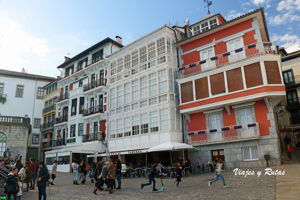 Plaza de la Independencia de Lekeitio