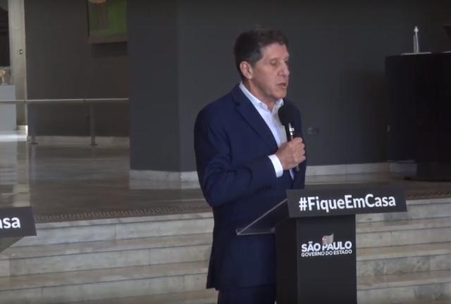 David UIP, coordenador do Centro de Contingencia da COVID-19 em São Paulo se nega a dizer se usou Cloroquina em Seu Tratamento