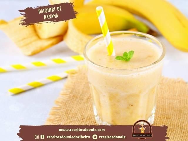 Receita de Daiquiri de Banana
