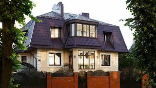 Bentuk Atap Rumah model Mansard