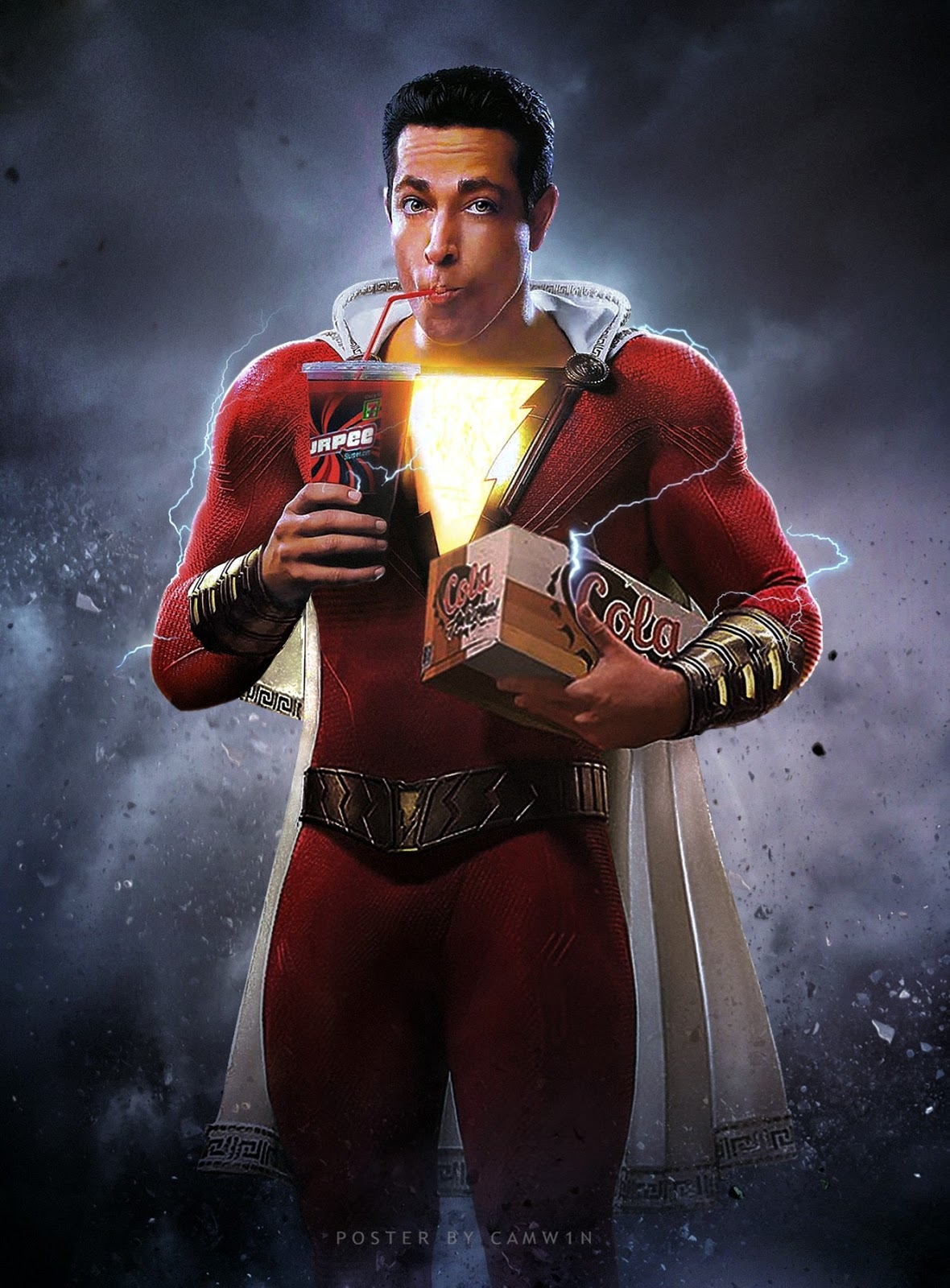 Shazam Dc Wallpapers Download In Hd 4k Whats Images