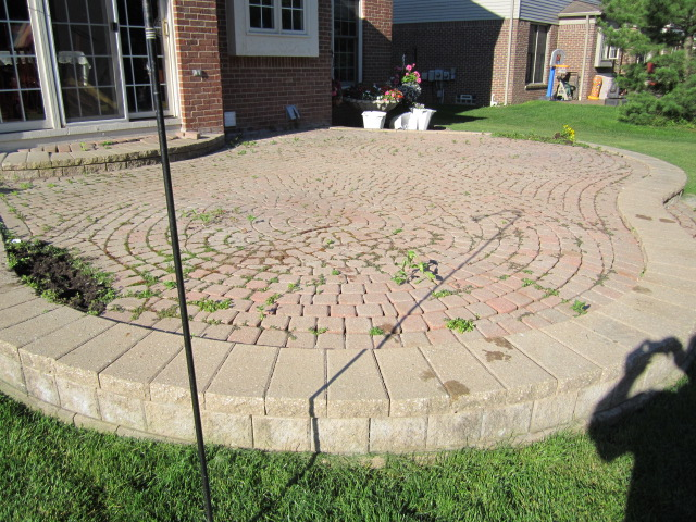Wonderful Restoration And Spring Maintenance For Paver Patio In Canton Starts The New  Season
