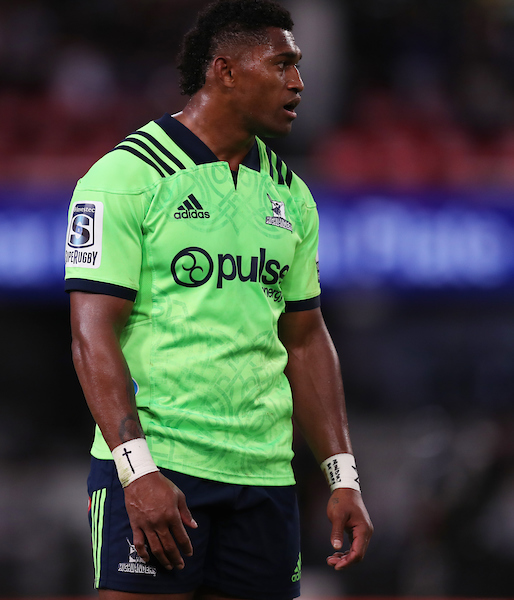 Waisake Naholo of the Highlanders